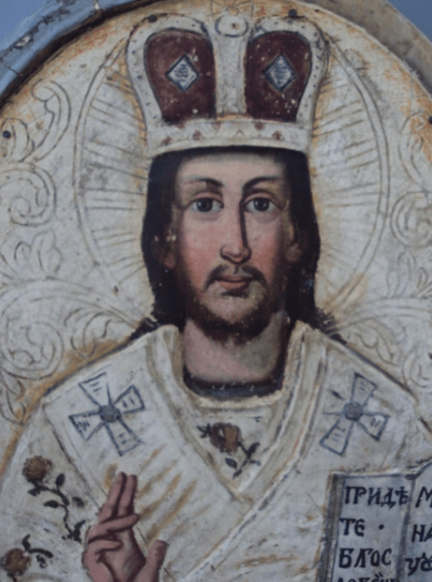 Jesus Christ Savior on the throne - photo 2