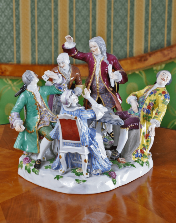 Meissen, Germany, 1745, the author of the I. I. Kendler, China - photo 2