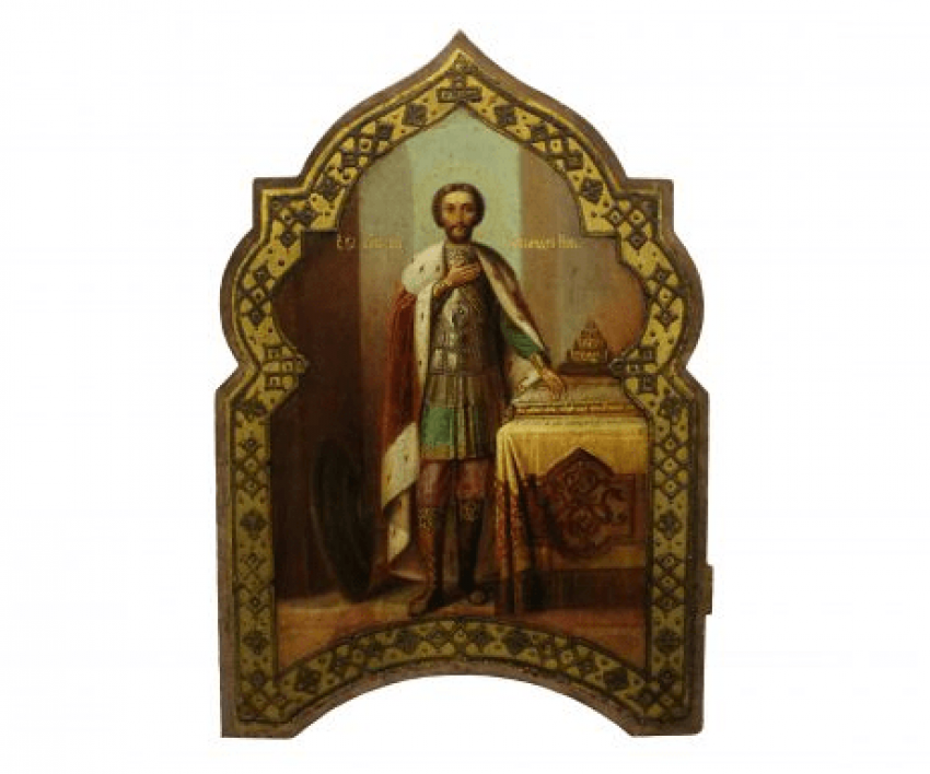 The Icon Of St. Alexander Nevsky - photo 1
