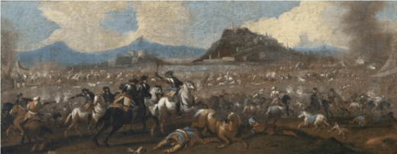 The battle of Christians against the Turks in the XVII century. - photo 1