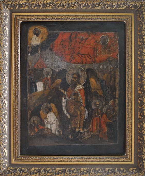 The ascension of prophet Elijah to heaven - photo 1