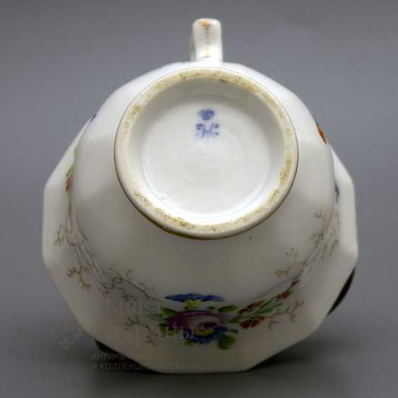 A couple of tea, Russia, Imperial porcelain factory, Nicholas I - photo 4
