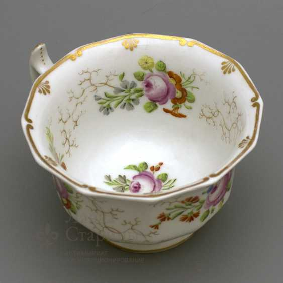A couple of tea, Russia, Imperial porcelain factory, Nicholas I - photo 3