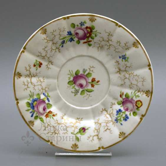 A couple of tea, Russia, Imperial porcelain factory, Nicholas I - photo 5