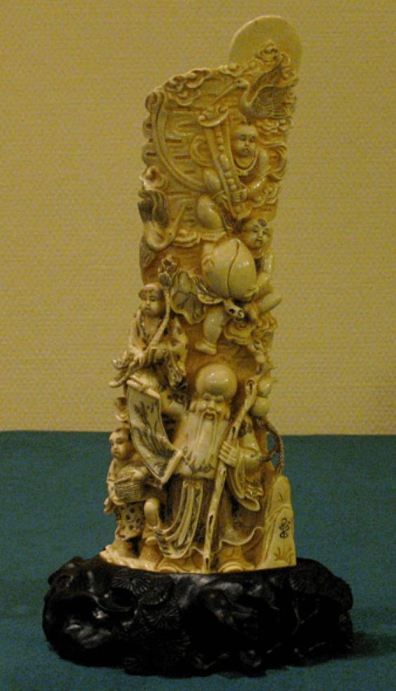 """""""Les saints"""" de l'ivoire, du XXE siècle - photo 1"""