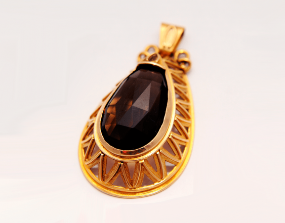 Pendant with Topaz - photo 1