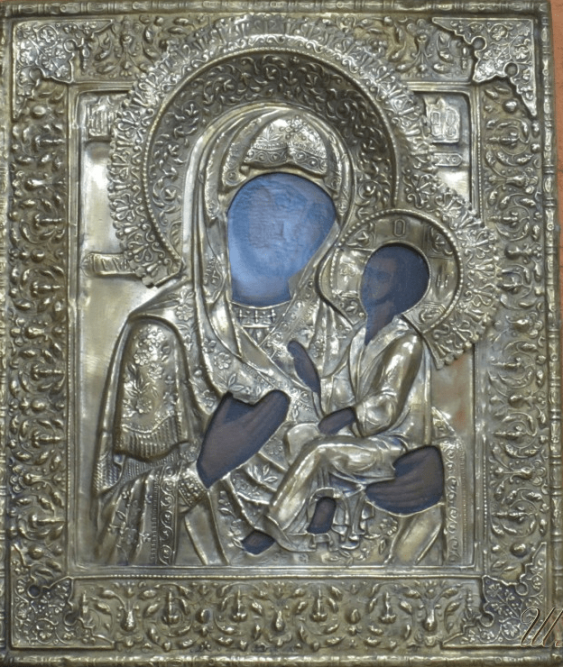 The Mother Of God Of Tikhvin - photo 1
