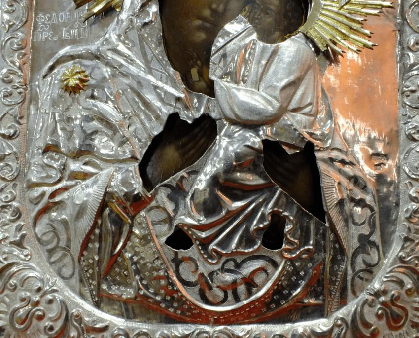 """Icon """"Virgin Mary Fedorovskaya"""""""" - photo 2"""