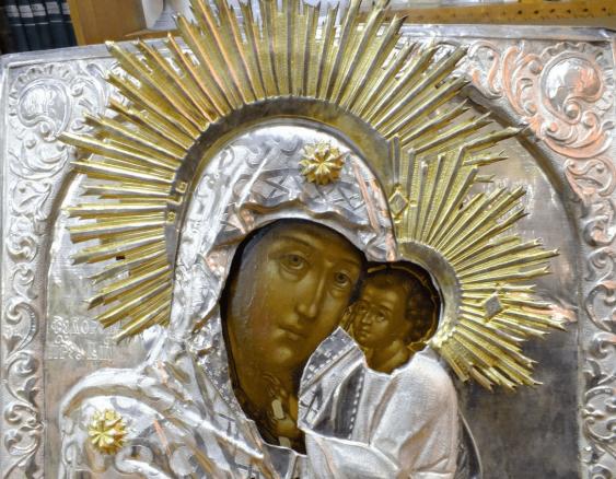 """Icon """"Virgin Mary Fedorovskaya"""""""" - photo 3"""