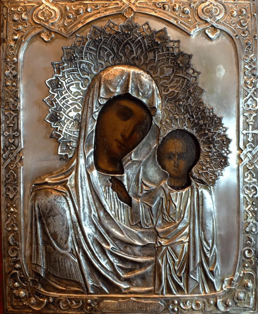 """Ikone """"Gottesmutter Von Kasan"""" - Foto 1"""