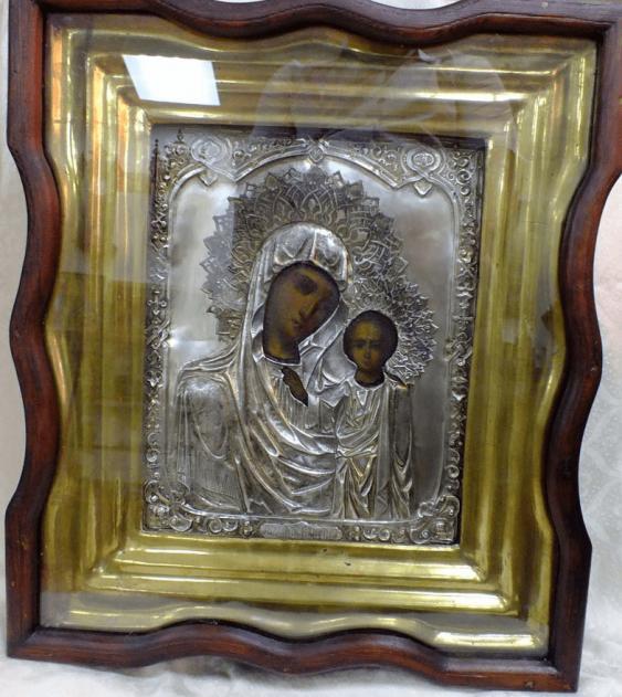 """Ikone """"Gottesmutter Von Kasan"""" - Foto 3"""