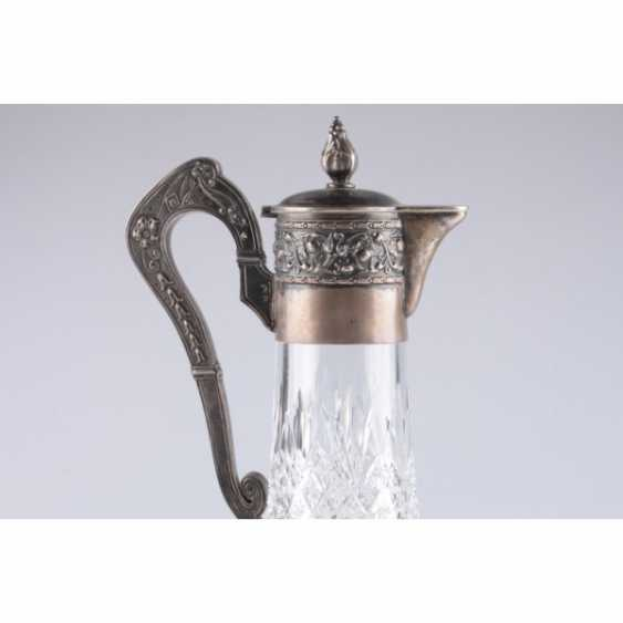 The decanter in the art Nouveau style. Moscow. Silver 84 samples. - photo 5