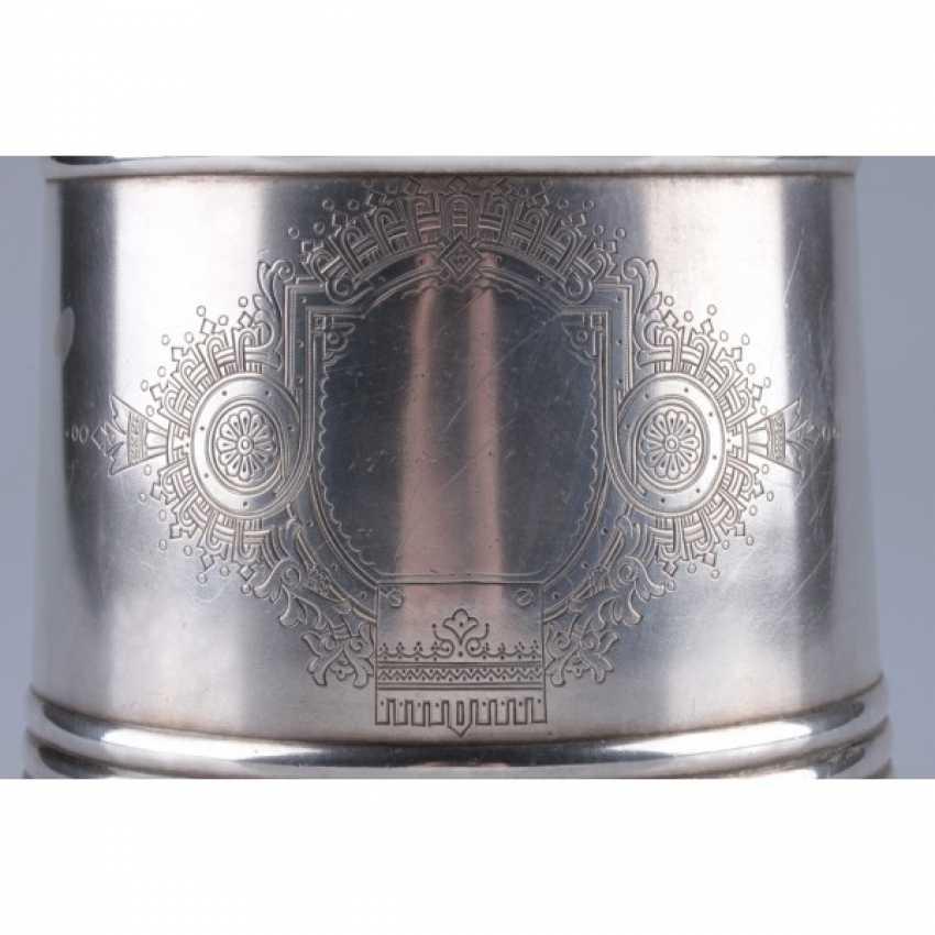 A champagne bucket. Moscow, master V. Akimov - photo 6