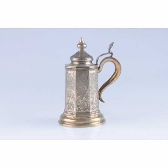 MUG WITH A LID. RUSSIA, MOSCOW, the MASTER of S. STROGANOV. - photo 3