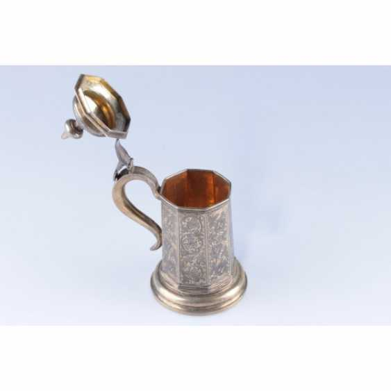 MUG WITH A LID. RUSSIA, MOSCOW, the MASTER of S. STROGANOV. - photo 4