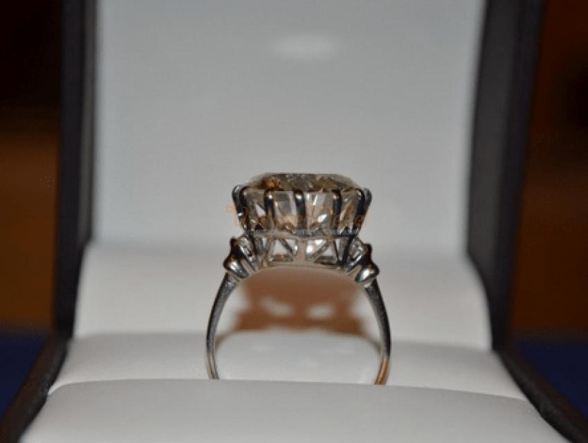 diamond ring with 9.14 CT - photo 1