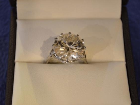 diamond ring with 9.14 CT - photo 2