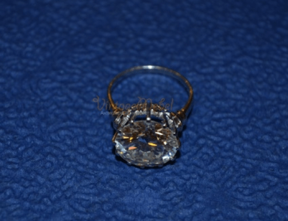 diamond ring with 9.14 CT - photo 3