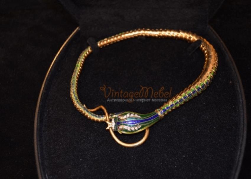 "Vintage necklace ""the Snake"" - photo 1"