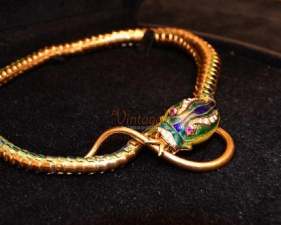 "Vintage necklace ""the Snake"" - photo 2"