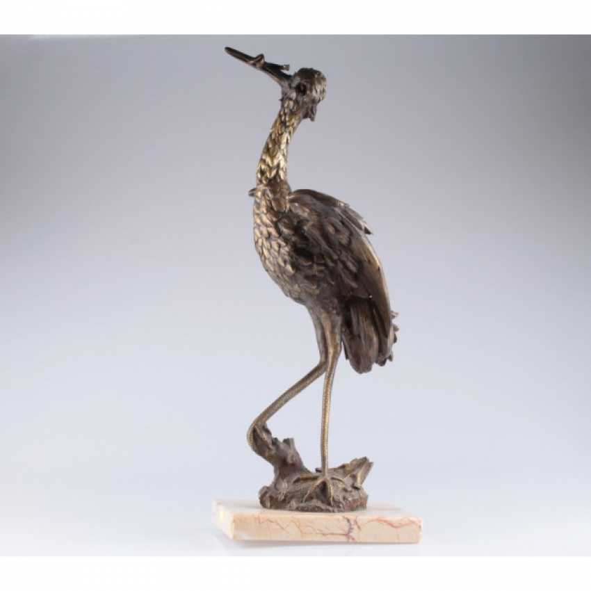 "THE SCULPTURE ""THE HERON"". WESTERN EUROPE - photo 1"