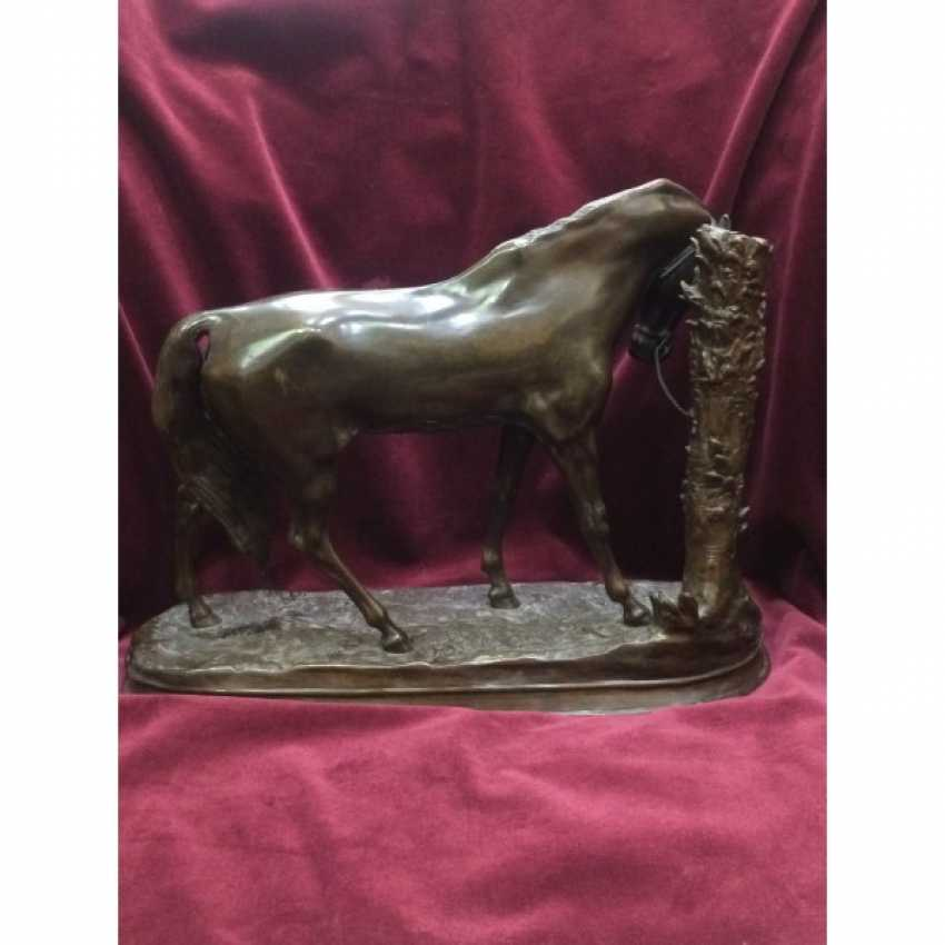 """SCULPTURE """"HORSE"""". FRANCE. THE AUTHOR OF THE MODEL. P. J. MENE. - photo 3"""