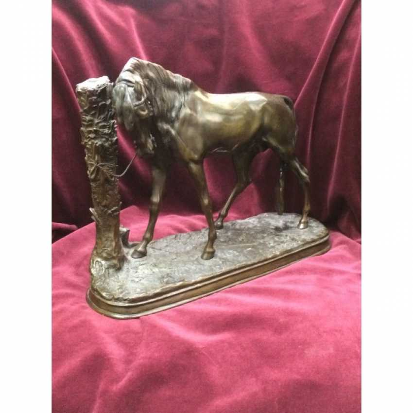 """SCULPTURE """"HORSE"""". FRANCE. THE AUTHOR OF THE MODEL. P. J. MENE. - photo 5"""