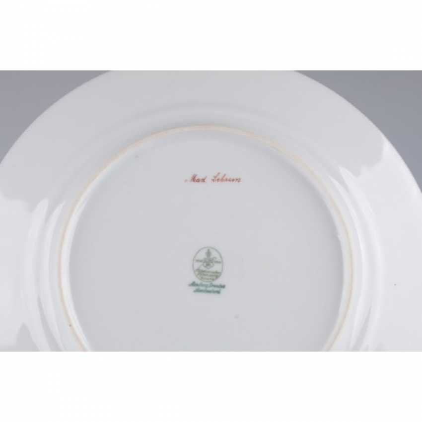 """PLATE WITH A PORTRAIT OF """"MAD. LEBRUN"""". - photo 4"""