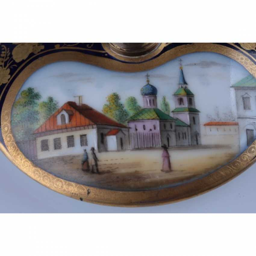 GLASS WITH A VIEW OF THE BELL TOWER OF IVAN THE GREAT. RUSSIA. - photo 3
