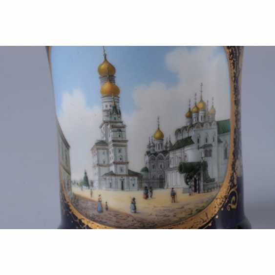 GLASS WITH A VIEW OF THE BELL TOWER OF IVAN THE GREAT. RUSSIA. - photo 6