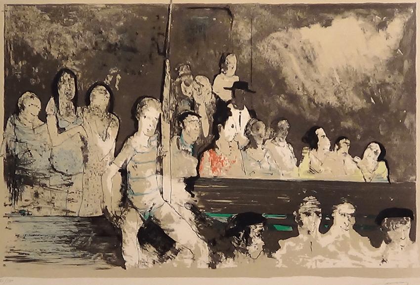 Jean Jansem - Original lithography - photo 1