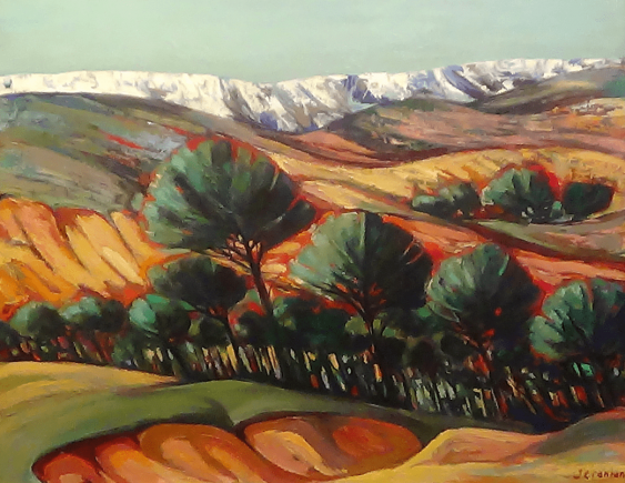 "Richard Jeranian - ""Trees on the Hill"" - photo 1"
