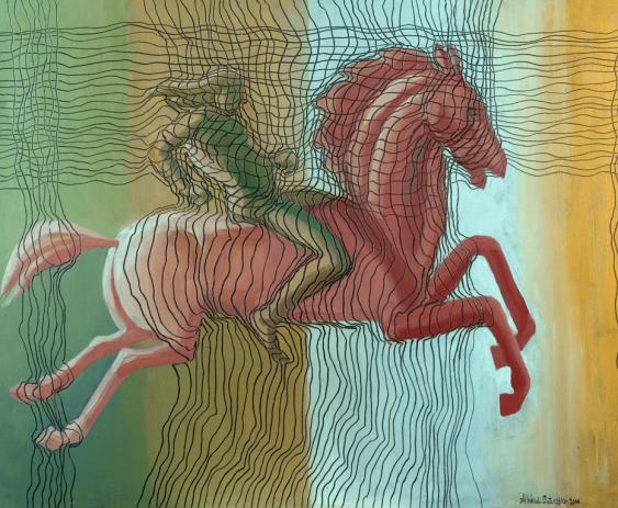 "Arkadi Ter-Petrossian - ""red rider"" - photo 1"