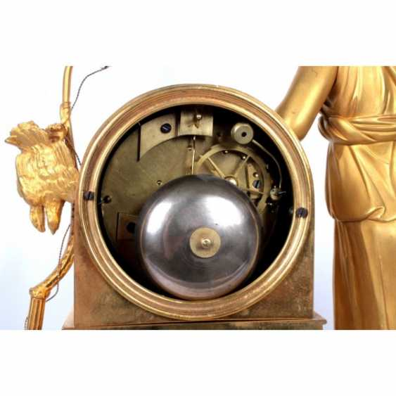 MANTEL CLOCK IN THE EMPIRE STYLE DIANA THE HUNTRESS - photo 5