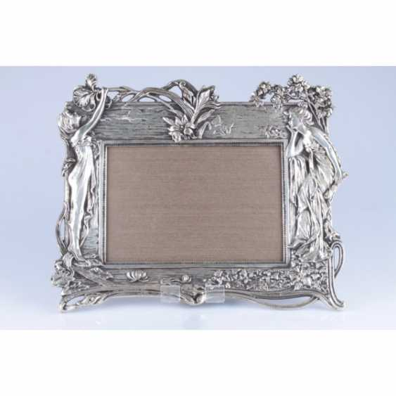PHOTO FRAME IN ART NOUVEAU STYLE. WESTERN EUROPE. - photo 1