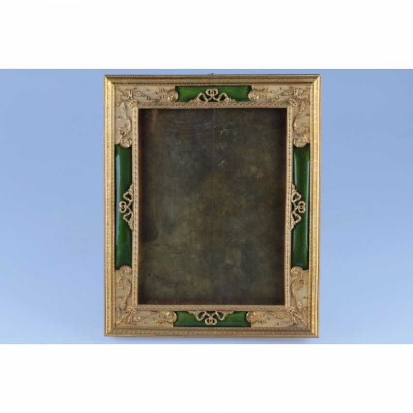 PHOTOGRAPH FRAME IN NEO-CLASSICAL STYLE. FRANCE, PARIS. - photo 1