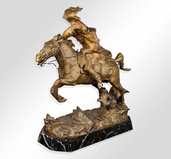 """The Sculpture """"The Trooper"""" - photo 1"""