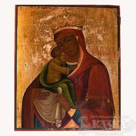 """Icon """"Pochaevskaya Mother Of God"""" - photo 1"""