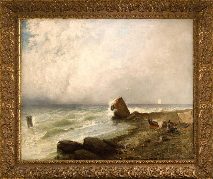 "The Painting ""The Fisherman"" (Hirschfeld, E. V.) - photo 1"