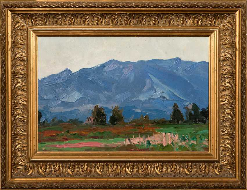 """The Painting """"Mountain"""" (B. A. Vogel) - photo 1"""