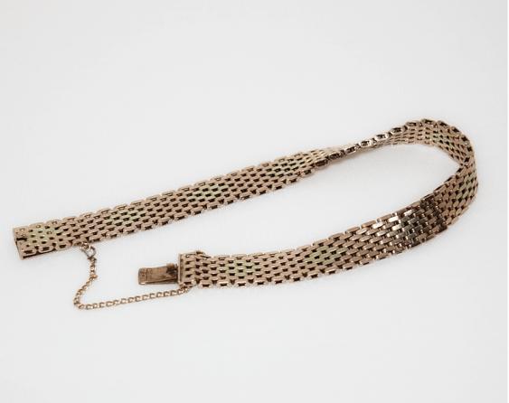 Gold bracelet 56 sample - photo 1