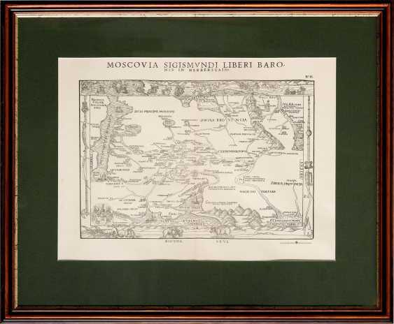 """Карта """"Muscovy Sigismvndi Free"""" (XIX век) - photo 1"""