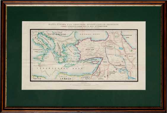 """Map """"the Path of the Apostle Paul in Rome"""" (1858) - photo 1"""