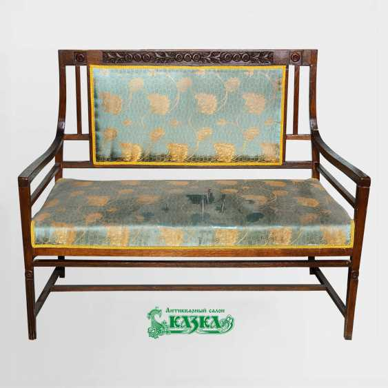 Seating set made of oak (beginning of XX century) - photo 1