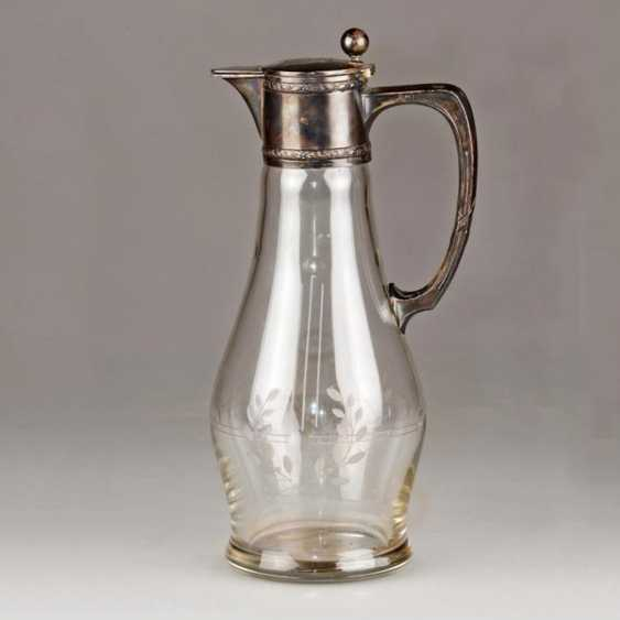 Jug of silver in the art Nouveau style - photo 1