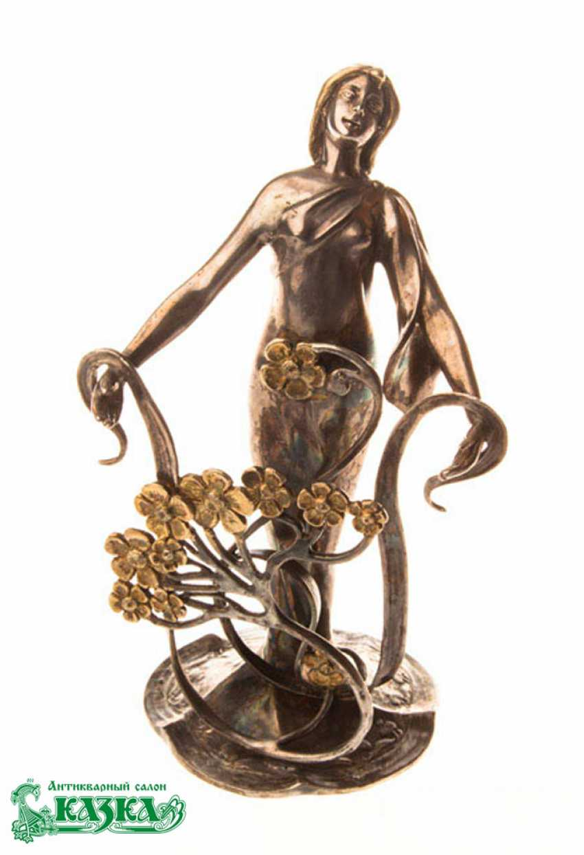 """Figurine """"Spring"""" from silver - photo 1"""