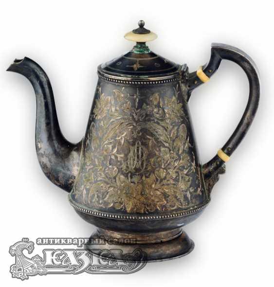 Silver tea set - photo 2