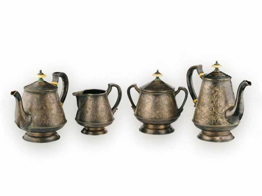 Silver tea set - photo 1