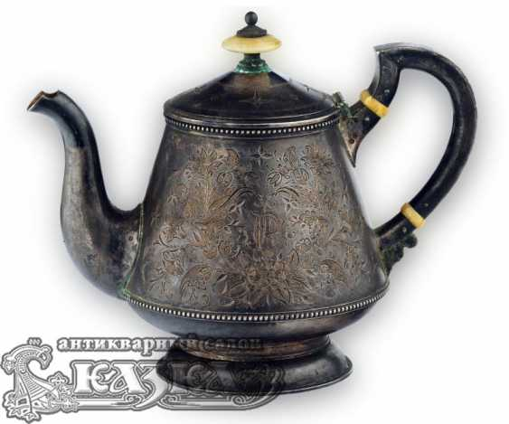 Silver tea set - photo 3