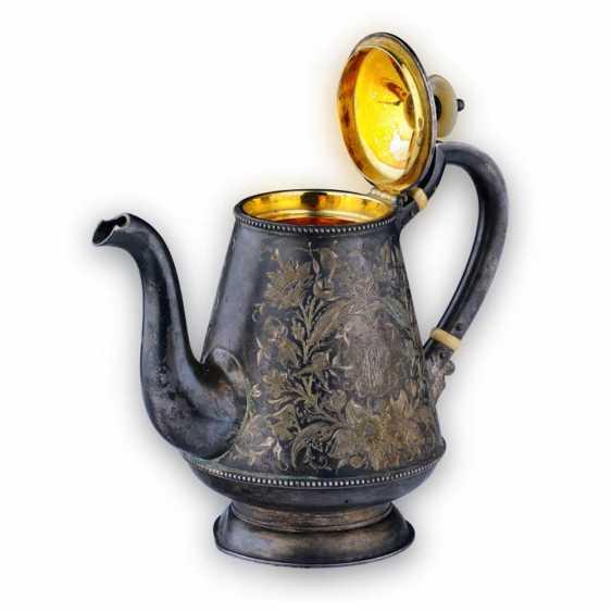 Silver tea set - photo 4
